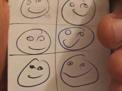 smiley faces 8 class pass